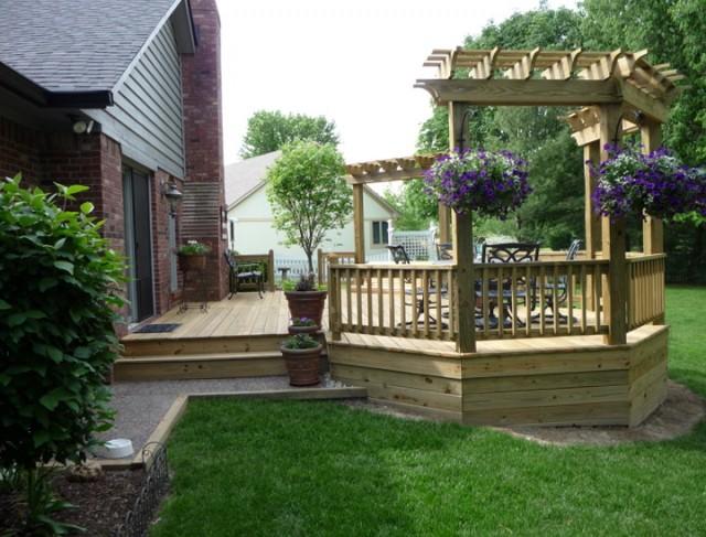Wood Patio Deck Ideas