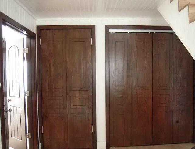 Wooden Bifold Closet Doors