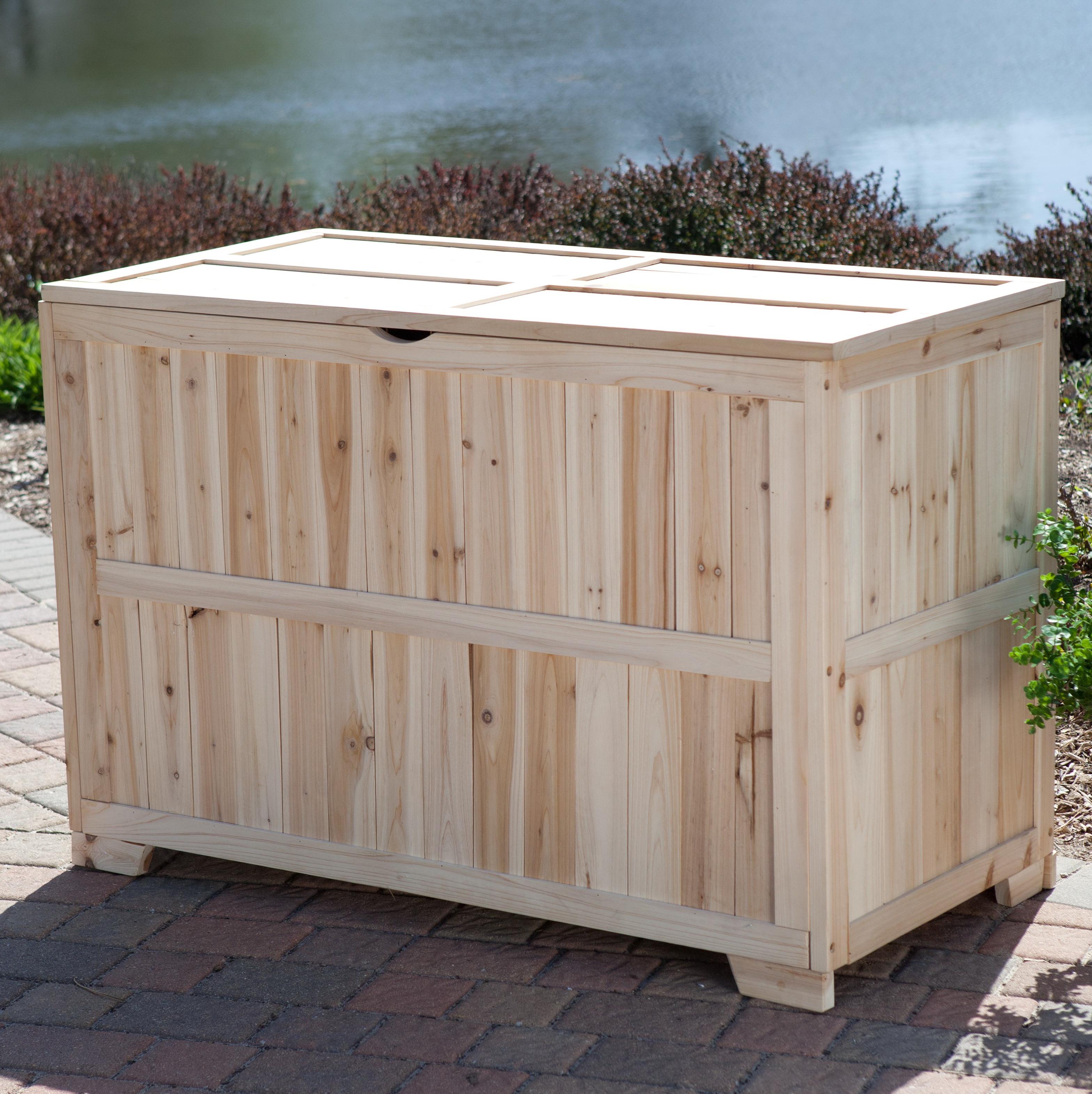 Wooden Deck Box Mtg
