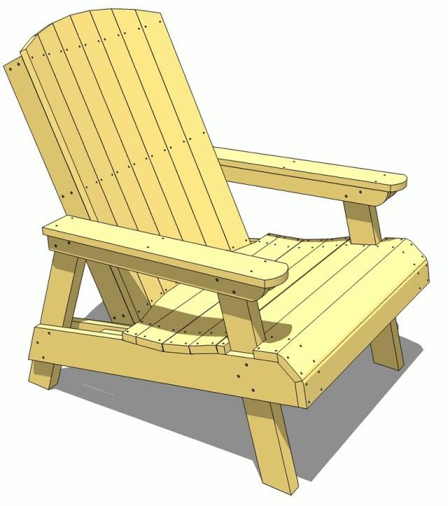 Wooden Deck Furniture Plans