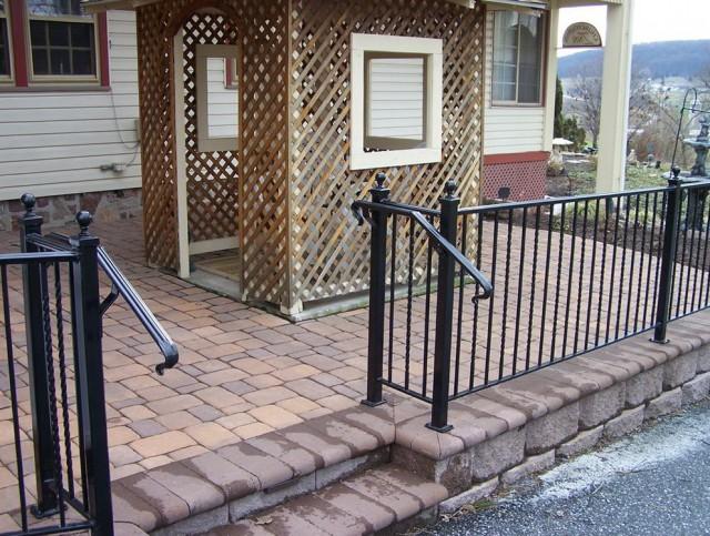 Wrought Iron Deck Railing Panels Home Design Ideas