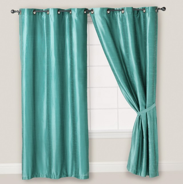 108 Inch Curtains Blue