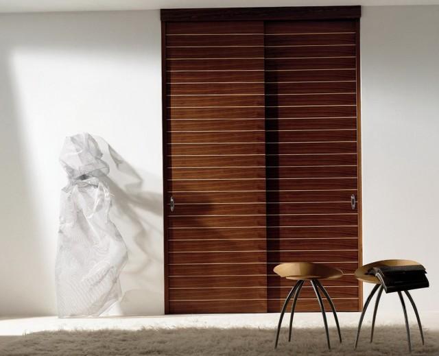 2 Panel Sliding Closet Doors