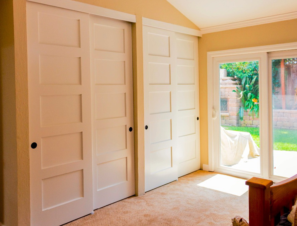 4 Panel Sliding Closet Doors Home Design Ideas