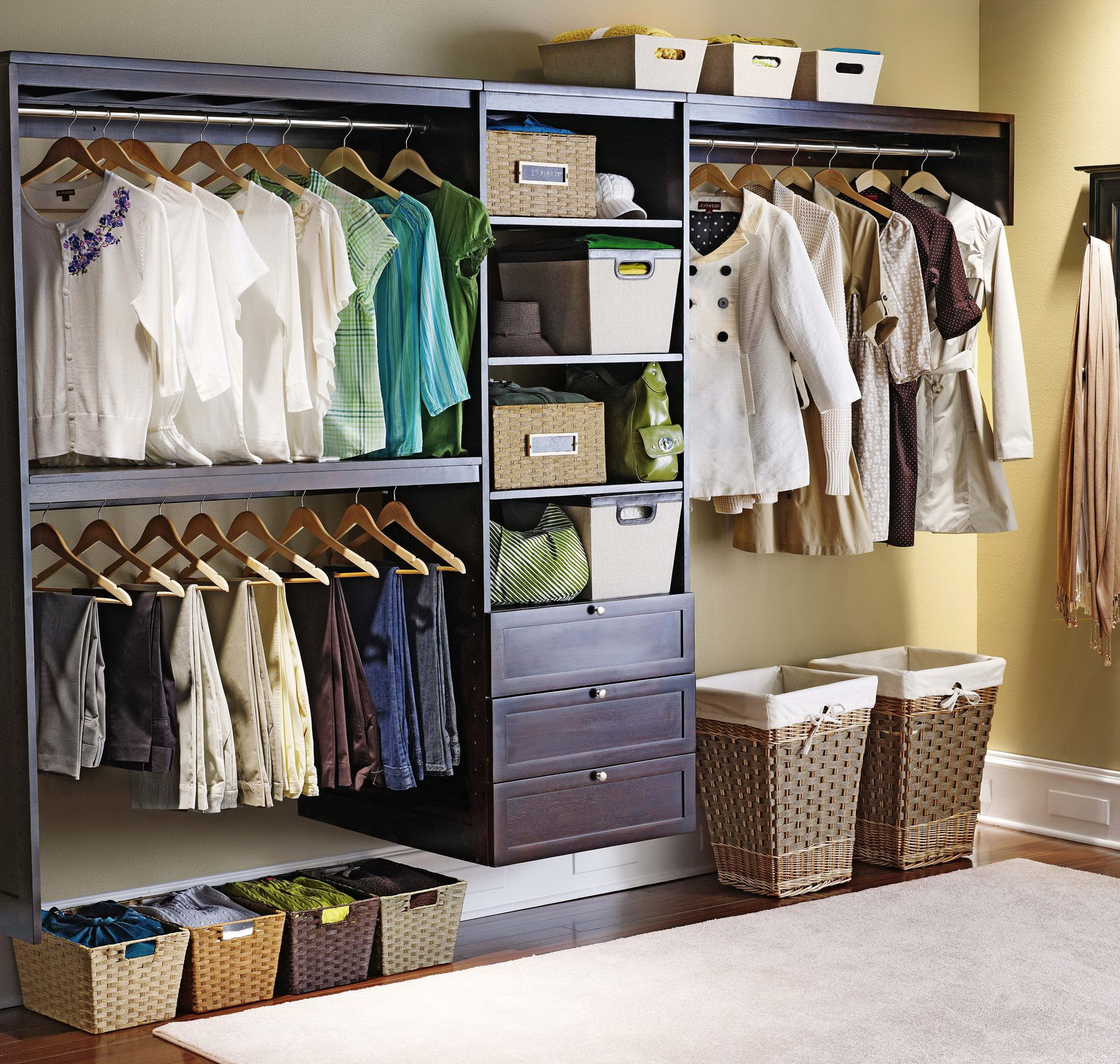 Allen And Roth Closet System Instructions Home Design Ideas