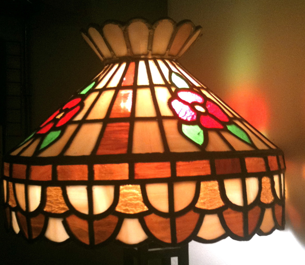 Antique Stained Glass Chandelier Home Design Ideas