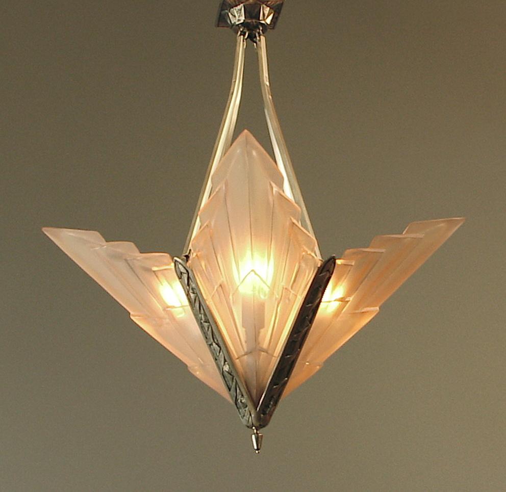 Art Nouveau Chandeliers For Sale