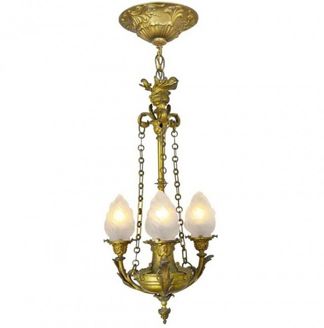 Art Nouveau Lighting Chandelier