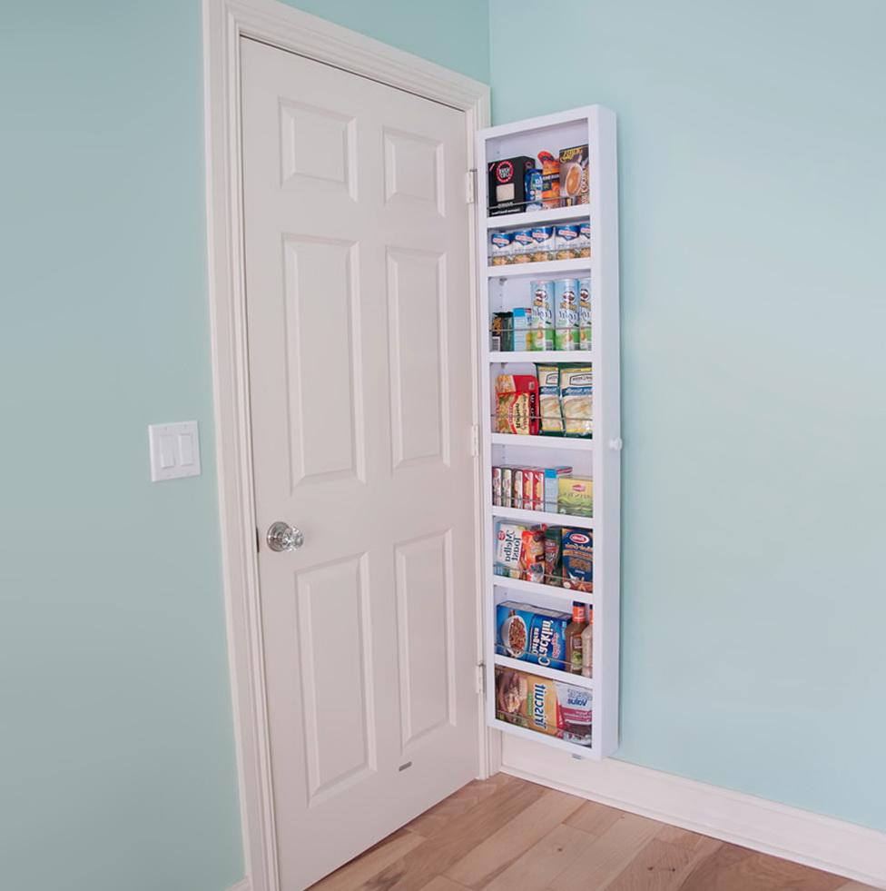 Back Of Closet Door Storage