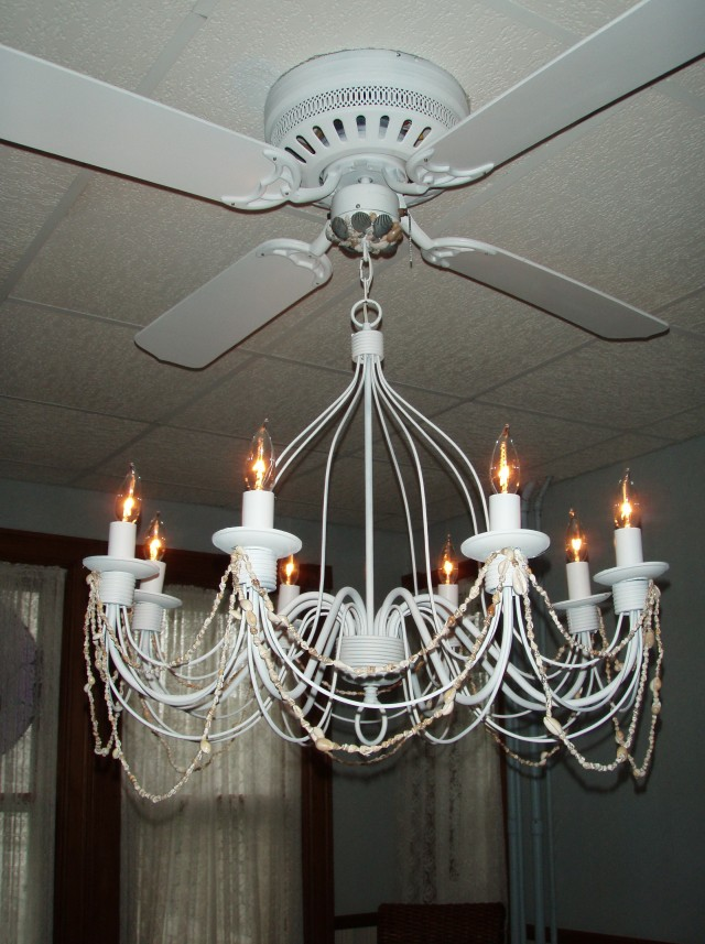 Bedroom Chandelier With Fan