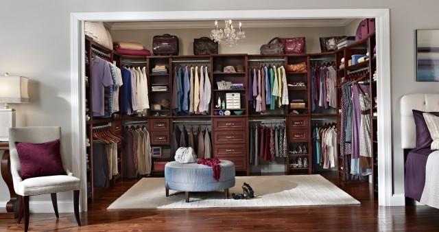 Bedroom Closet Organization Systems