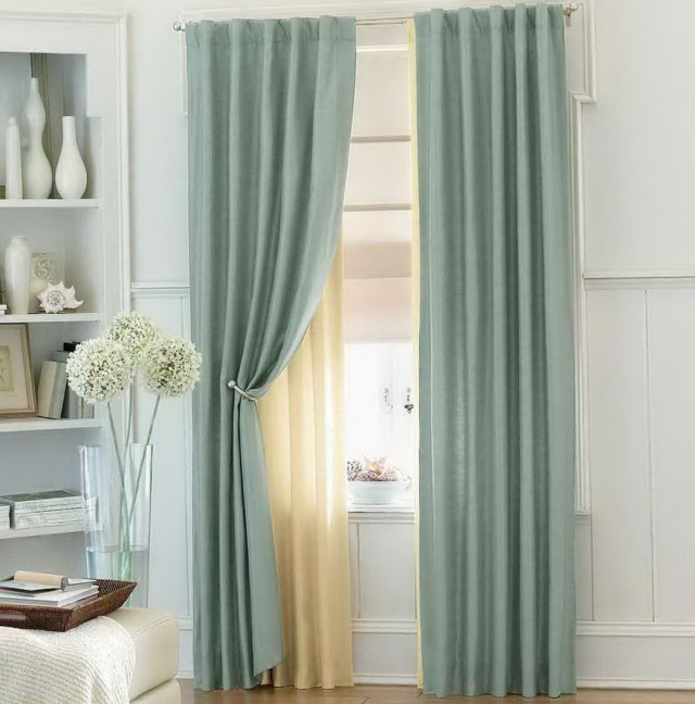 Bedroom Curtain Ideas With Blinds