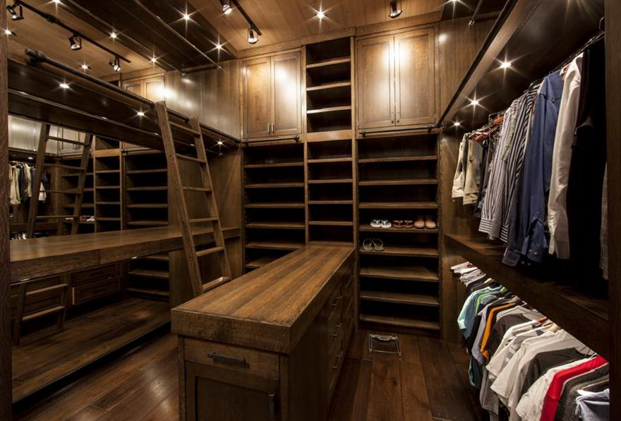 Best Men S Closet Design Home Design Ideas