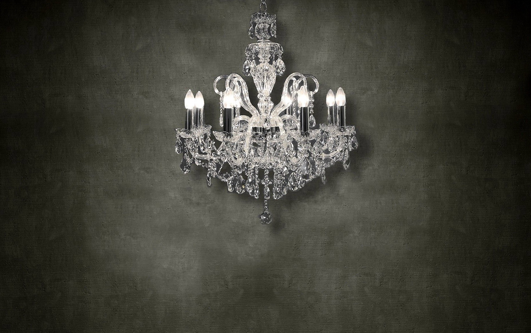 Black And White Chandelier Background
