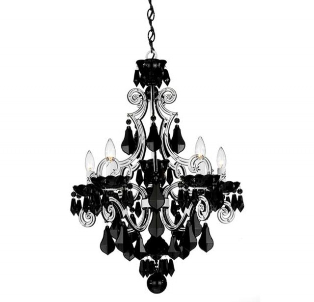 Black And White Chandelier Photography