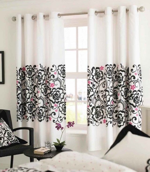 Black And Red Curtains For Bedroom | Home Design Ideas