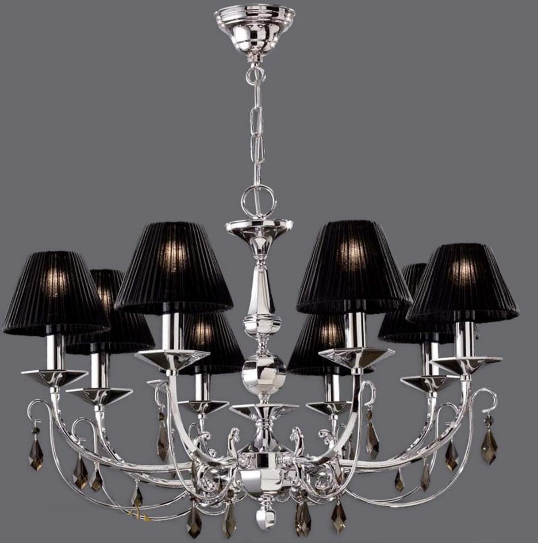 Black Chandelier Lamp Shades