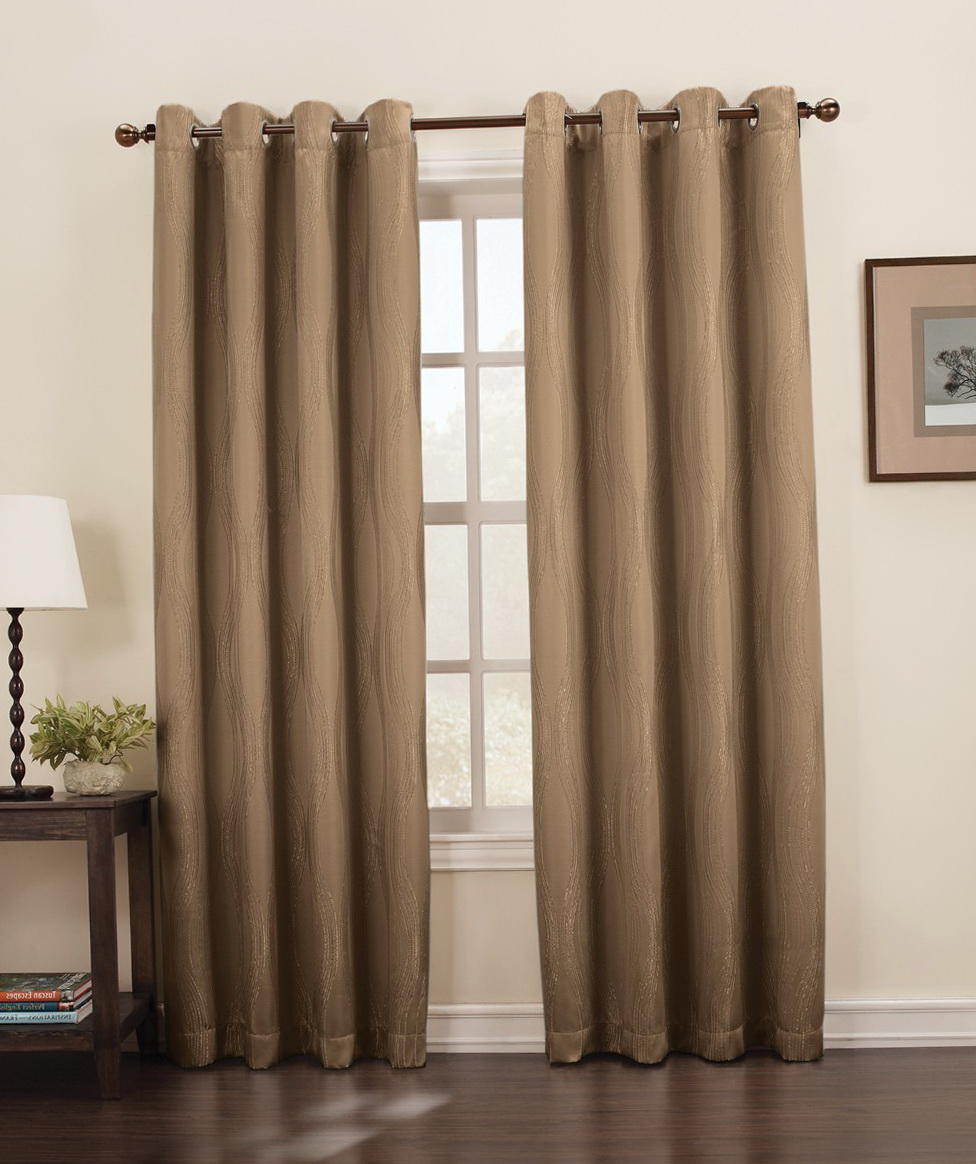blackout curtain liner grommet home design ideas. Black Bedroom Furniture Sets. Home Design Ideas
