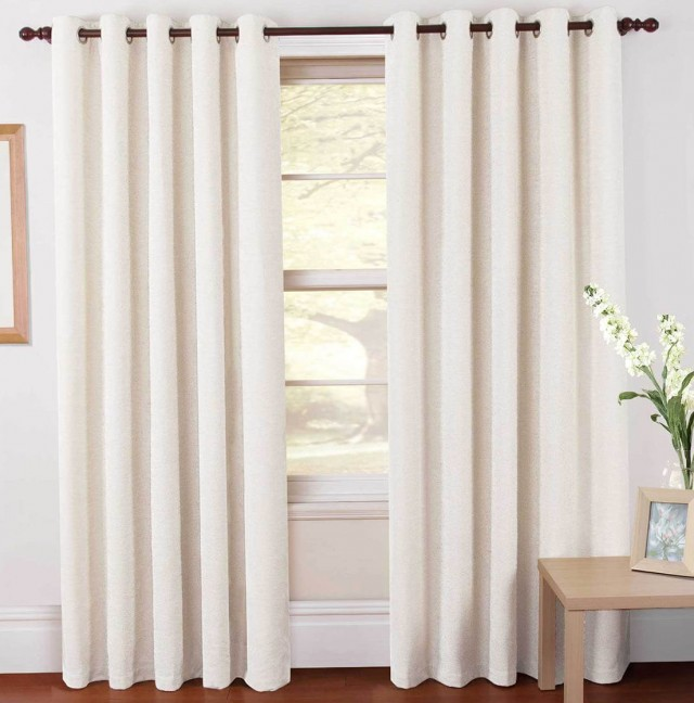 Blackout Curtain Liner White
