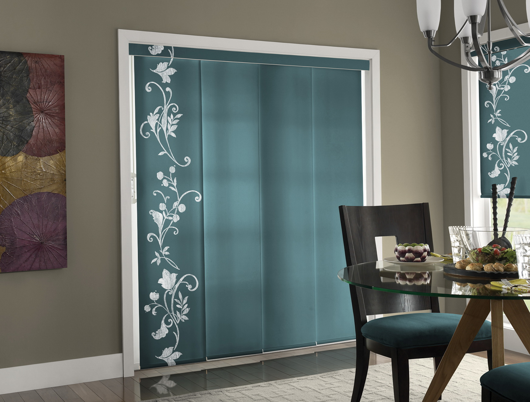 Blinds Or Curtains For Sliding Doors Home Design Ideas