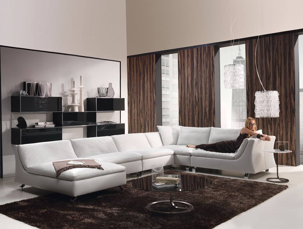 Brown Living Room Curtain Ideas