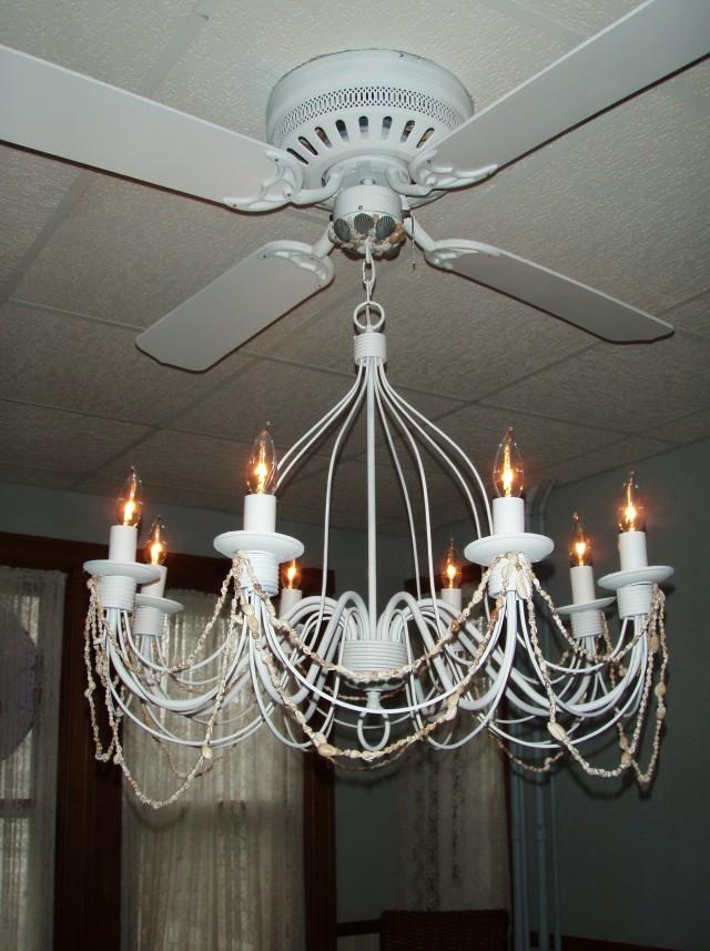 Crystal Chandelier Ceiling Fans Home Design Ideas