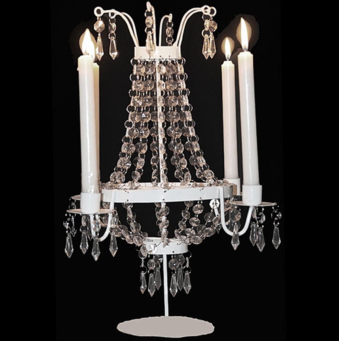 Chandelier candle holder centerpiece home design ideas