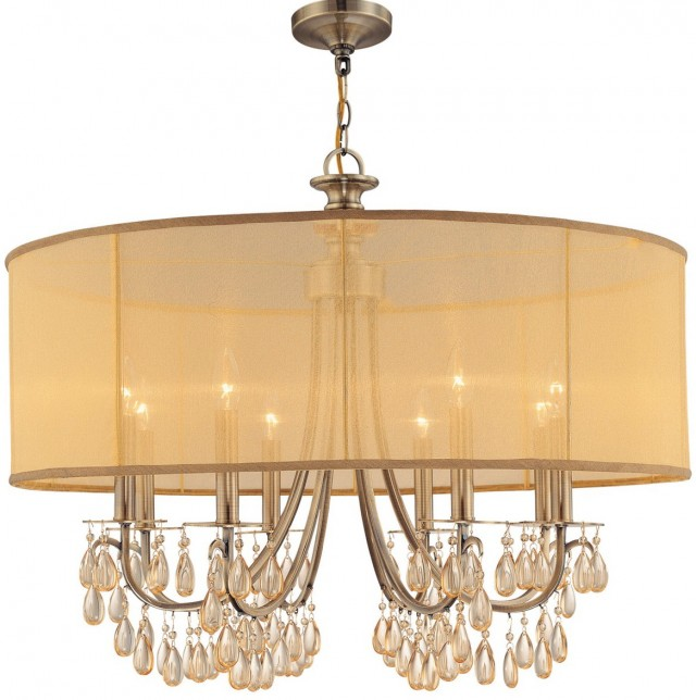 Chandeliers With Drum Shades Home Design Ideas