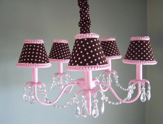 Chandelier For Girl Nursery