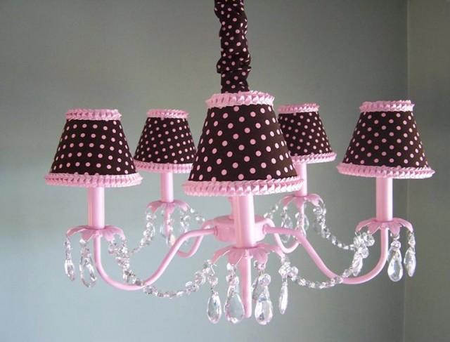 Chandelier For Girl Nursery