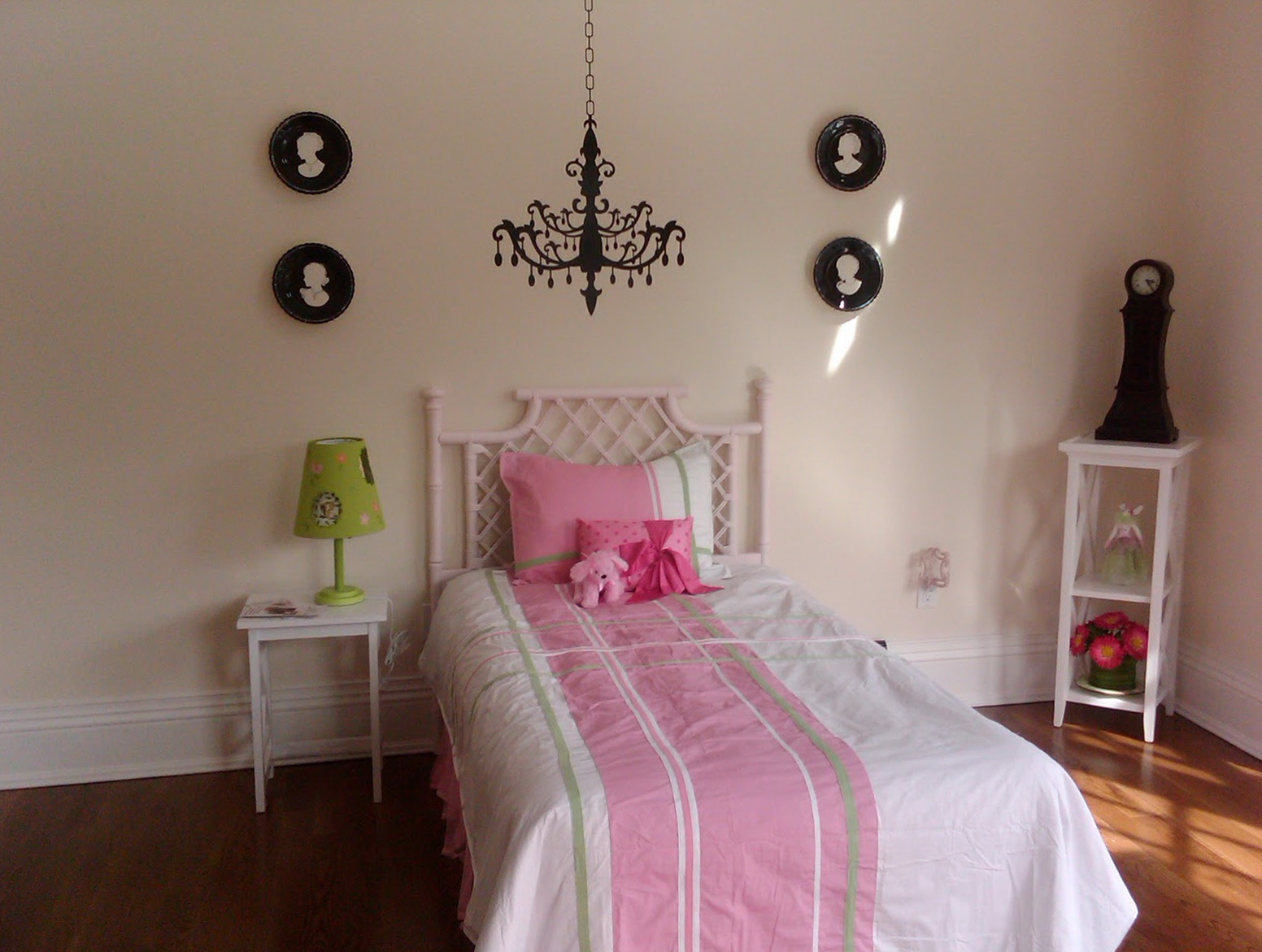 Chandelier For Little Girl's Bedroom