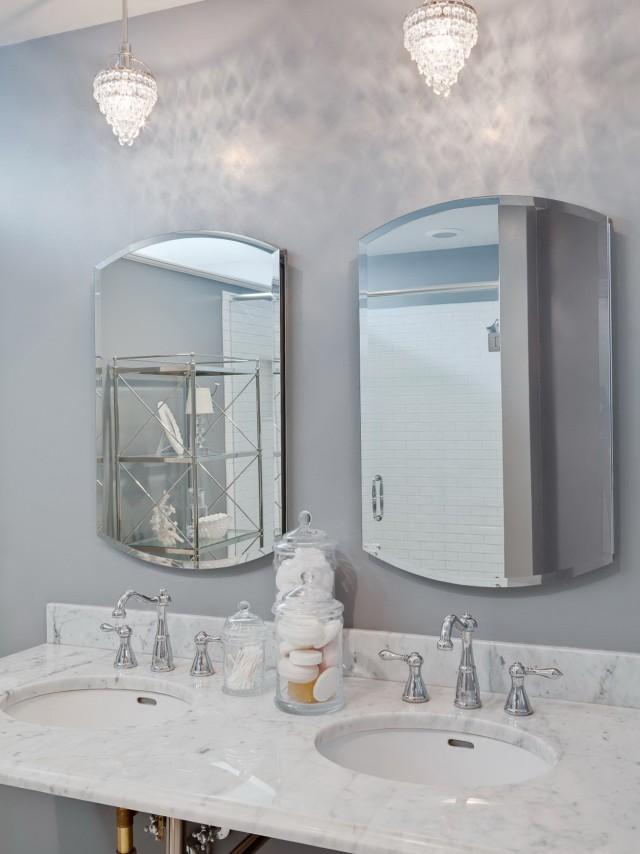Chandelier In Bathroom Photos