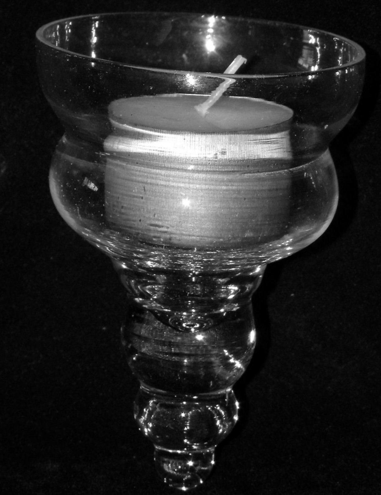 Chandelier Replacement Glass Teardrop Cup