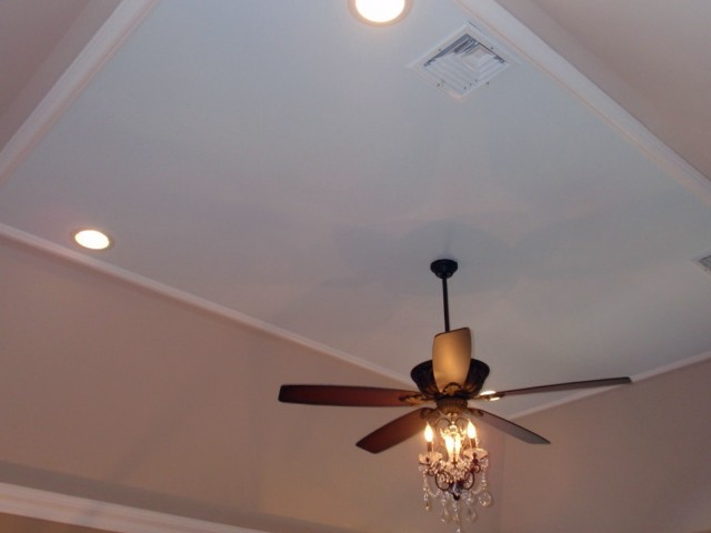 Chandelier With Ceiling Fan