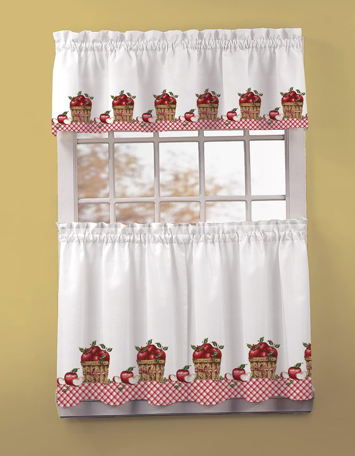 Christmas Kitchen Window Curtains Home Design Ideas