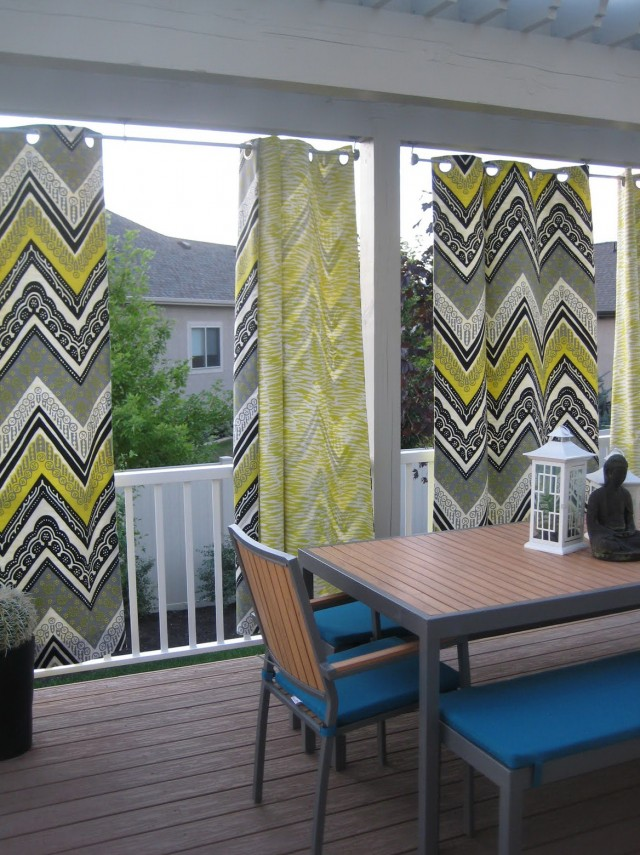 Clear Vinyl Outdoor Patio Curtains