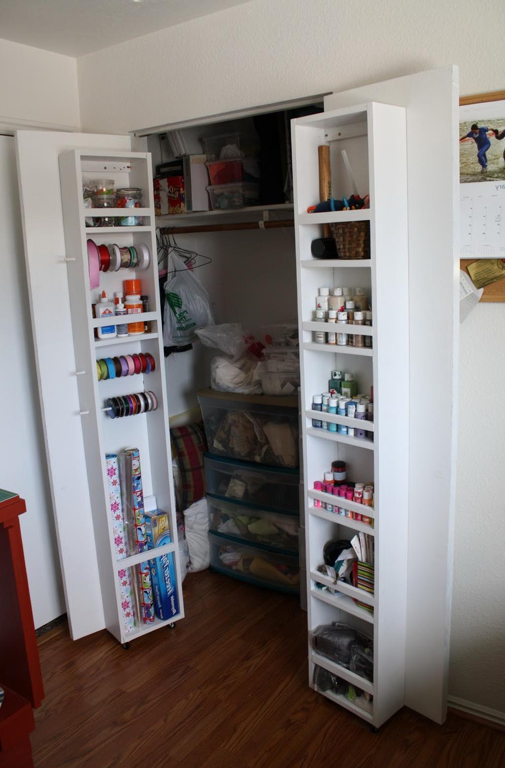Closet Door Storage Ideas Home Design Ideas