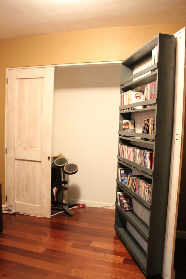 Closet Door Storage Rack