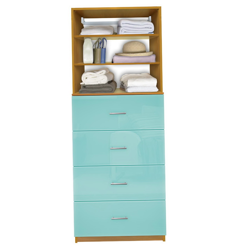 Closet System With Drawers
