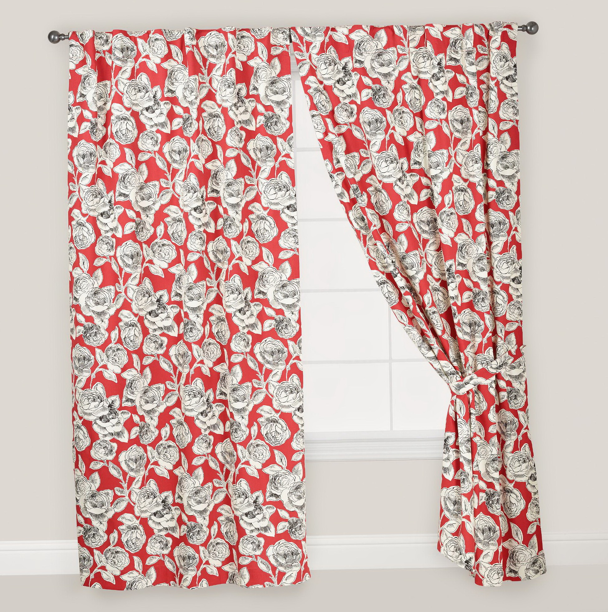 Concealed Tab Top Curtains
