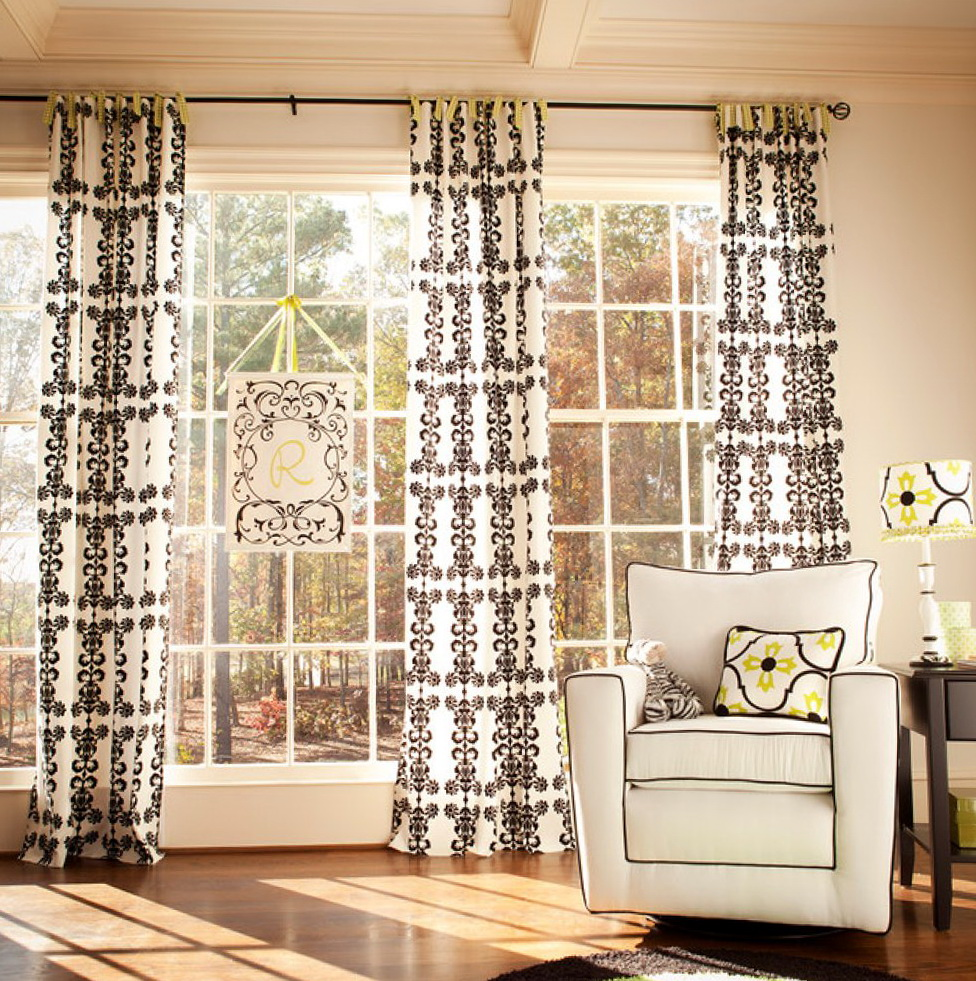Contemporary Curtains And Window Treatments