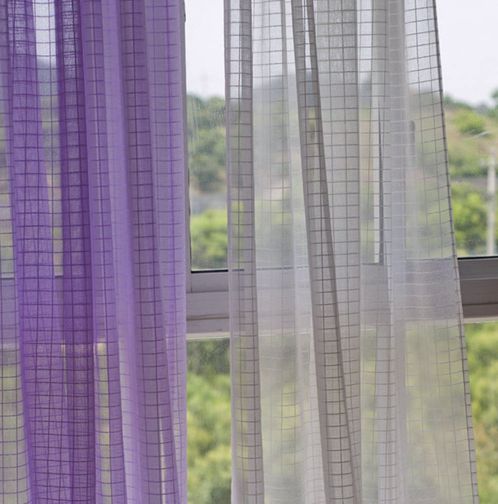Contemporary Sheer Curtain Panels