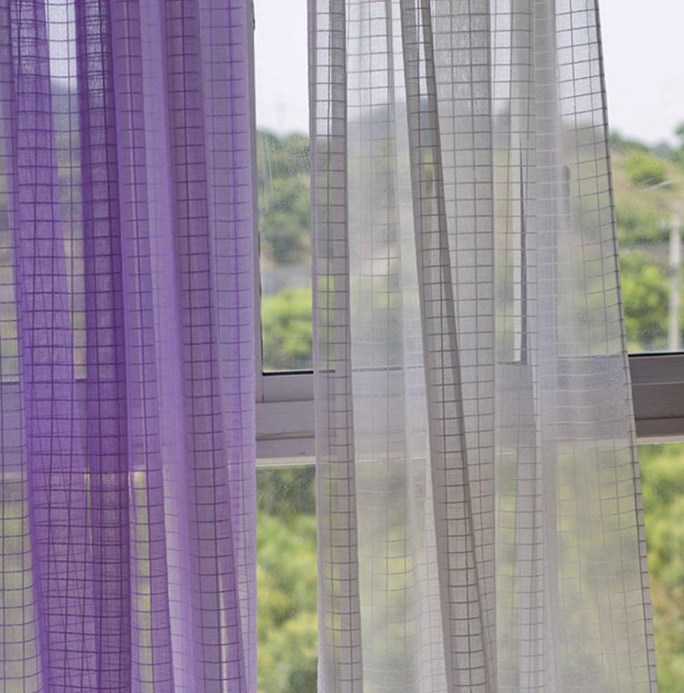 Contemporary Sheer Curtain Panels Home Design Ideas