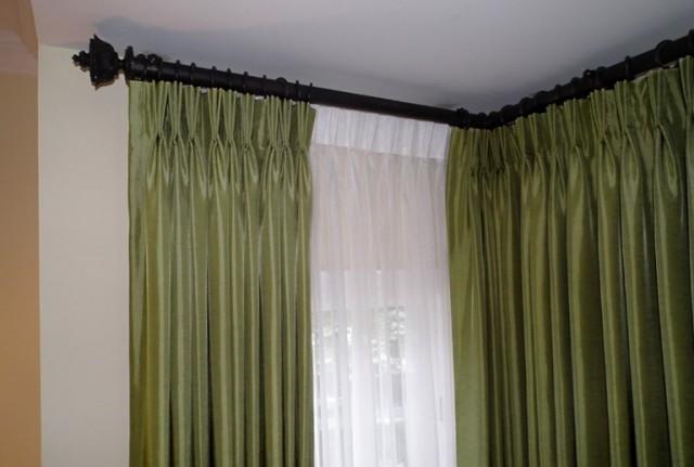 Corner Curtain Rods For Windows