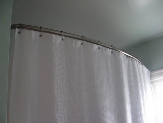 Corner Shower Curtain Rod Home Depot
