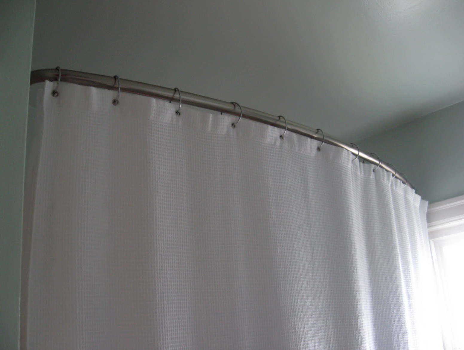 Corner Shower Curtain Rod Home Depot