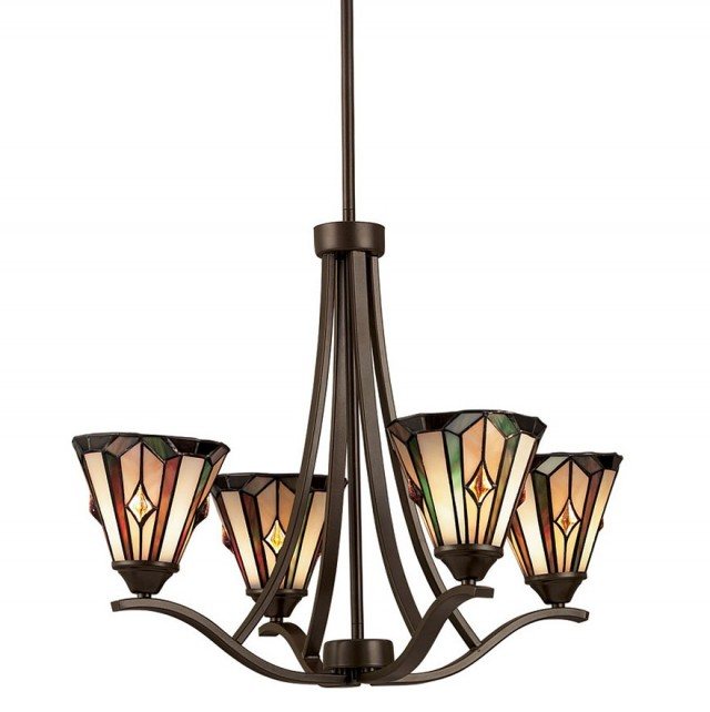 Craftsman Mission Style Chandelier
