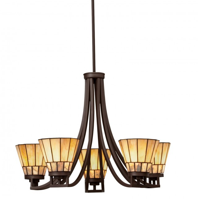Craftsman Style Chandelier Lighting