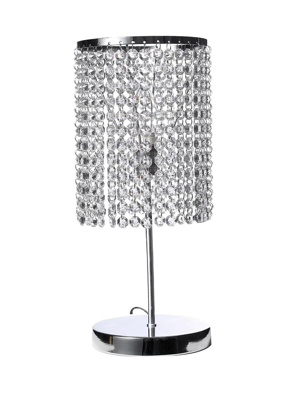 Crystal Beaded Table Chandelier Lamp