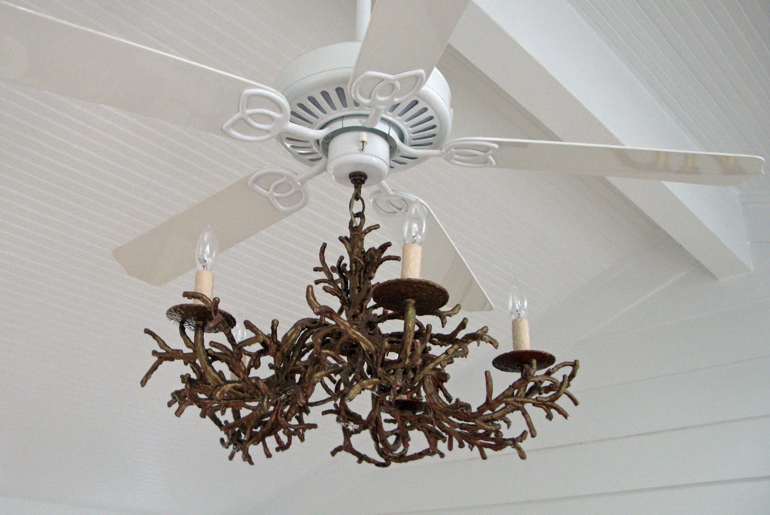 Crystal Chandelier Ceiling Fan Combination Home Design Ideas